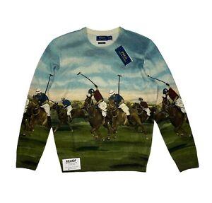 Polo Ralph Lauren Equestrian - Polo Player - Cashmere Jumper Sweater - Medium M