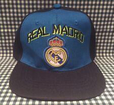 Real Madrid FC Adjustable Fit Snapback Baseball Style Hat Blue La Liga Ronaldo