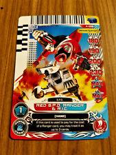 Power Rangers Legends Unite 4-055  Red S.P.D. Ranger & R.I.C.