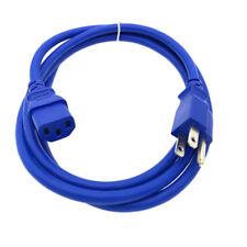 BLUE COLOR CODING 6FT AC POWER CORD FOR VIZIO LG SAMSUNG PANASONIC TV LCD PLASMA
