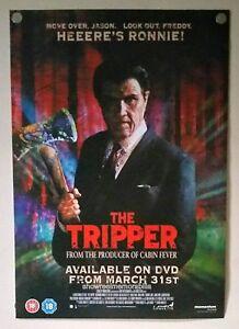 Jaime King THE TRIPPER Original UK 2008 POSTER video shop release
