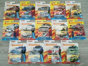 Matchbox Diecast Model - Moving parts, Superfast, Working Rigs, Sky Busters.....