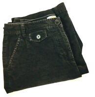 Talbots Women's Stretch Corduroy Brown Straight Cut Pants , Size 10 Actual 31X31