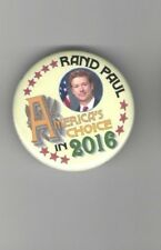 2016 pin RAND PAUL pinback GUARDFROG Limited edition of 240 ALSO Also RAN
