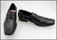 BLAQ MENS LEATHER LOAFERS FASHION DRESS SHOES SIZE 7.5, 41