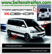 TRANSPORTER XXL Komplett Aufkleber Sticker Dekor Set für VW Bus T4 T5 ArtNr:5021