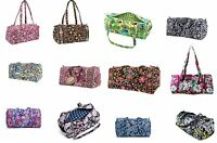 Vera Bradley Small Duffel Travel Case In Multiple Patterns Fast Shipping