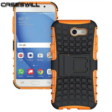 For Samsung Galaxy J3 Prime Case Rugged Armor Protective Cover with Kickstand