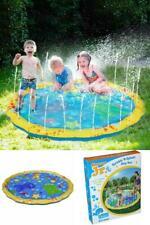 "54"" Plash Play Mat Diameter Sprinkle Hot Summer Swimming Party Beach Pool Kids"