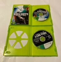 Call of Duty Black Ops 1 & 2 II Microsoft Xbox 360 Bundle Lot  Shooter Mature