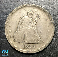 1875 S 20 Cent Piece  --  MAKE US AN OFFER!  #B6923