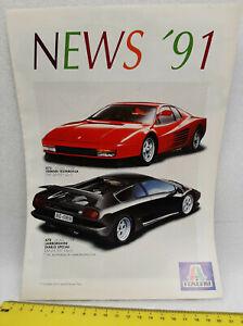 ITALERI News 1991, models catalogue, 8 pages