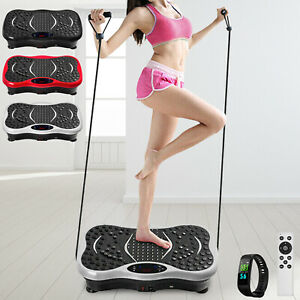 Vibration Platform Whole Body Massager Machine Exercise Fitness Slim Smart Band
