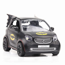 1:36 Scale Diecast Smart Batman Car Black Vehicle With Pull Back/Sound&Light Toy