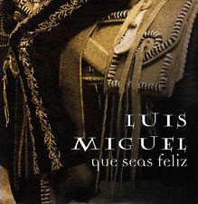 LUIS MIGUEL - QUE SEAS FELIZ CD SINGLE 1 TRACK PROMO 2004