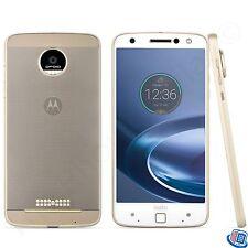 Unlocked Verizon Motorola Droid Moto Z Force Droid White Fine Gold Smartphone