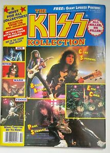 The KISS Collection Rock Scene May 1991. Rare, complete, Gene Paul Ace Peter