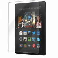 3PCS Clear Screen Protector Film Cover Amazon Kindle Fire HDX 7 inch