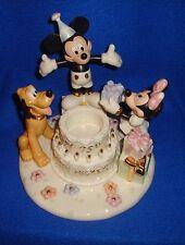 Disney Lenox Happy Birthday Mickey Votive in Original Box