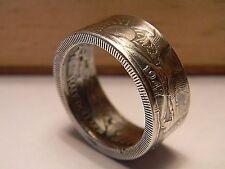 1947 Walking Liberty Silver US half Dollar  handmade coin ring size 6-13