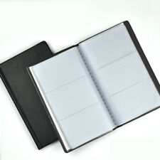 Leather 240 Bits Card Holder Business Name Credit Holder Book Case Keeper Hot