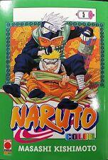 MANGA - Naruto Color N° 5 - Planet Manga - ITALIANO NUOVO