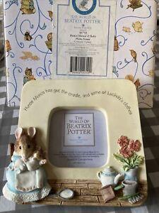 Beatrix Potter Hunca Munca Photo Frame - Boarder Fine Arts With Box