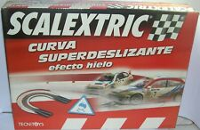 Scalextric 8812 N Gauge Building Kit Curve Super Slip Effect Ice