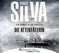 DIE ATTENTÄTERIN - SILVA,DANIEL  3 CD NEU