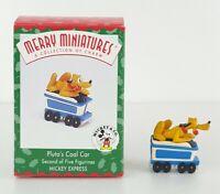 Hallmark Keepsake Ornament Mickey & Co Pluto Coal Car Mickey Express 1998 2/5