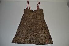 INTIMISSIMI LEOPARD PRINT SILK LIKE INTIMATE CAMISOLE WOMENS SIZE SMALL S NEW