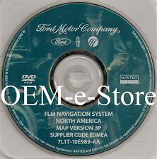 2007 Lincoln MKX / MKZ / Mark LT Pickup Navigation OEM DVD Map 3P U.S Canada
