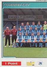 N°138 TEAM EQUIPE 1/2 COVENTRY CITY.FC STICKER MERLIN PREMIER LEAGUE 1999