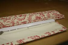 Roman Blind, Laura Ashley Ironwork Scroll  Fabric  (Made to measure)