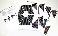 CUSTOM STAR WARS VINTAGE REPLACEMENT STICKERS for IMPERIAL TIE FIGHTER