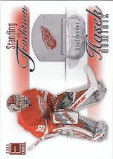 2003/4 Pacific Exhibit Standing On Tradition Dominik Hasek Red Wings