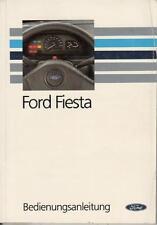FORD   FIESTA    3     Betriebsanleitung   1994    Bordbuch  Handbuch   BA