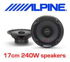 ALPINE 240W 2WAY 6.5 INCH CAR DOOR SHELF SPEAKERS NEW