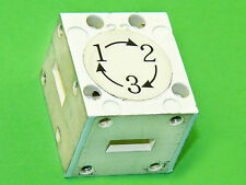 WR42 Waveguide Circulator Isolator Switch Low Loss 24GHz Isol. 20dB USA
