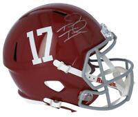 TUA TAGOVAILOA Autographed Alabama Full Size Speed Helmet FANATICS