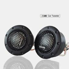 """1"""" 2.5cm Car Stereo Speakers Music Dome Balanced RMS 50w Car Tweeters DDT-S30"""