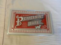 The Original Peppermint Bark Decorative Metal Tin Embossed, Empty from 2005