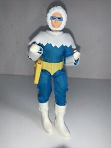 Retro Action DC Comics Super Heroes Captain Cold Figure 2009 Mattel