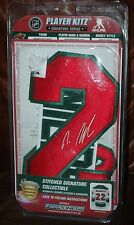 Nino Niederreiter jersey Player Kitz autograph signature series numbers letters