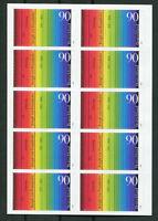 Bund 10 x 2907 SK Folienblatt FB 23 postfrisch Selbstklebende BRD MNH