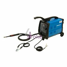 MIG/MAG Combination Gas/No Gas Welder 30-135A Thermal Overload Protection