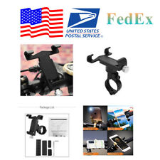 Motorcycle Handlebar For 4.0-6.2 inch CELL Phone Stand Bracket Mount Holder (US)