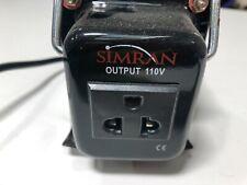 Simran 220v to 110v Step Down Transformer, 750 Watts. Very Lightly Used.
