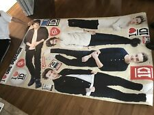 "Fathead Wall Decal,REAL BIG ""One Direction Collection"" PEEL & STICK - 20"" X 50"""