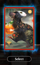 Magic The Gathering Arena Deck Sleeve Code - Secret Lair - Year of the Rat